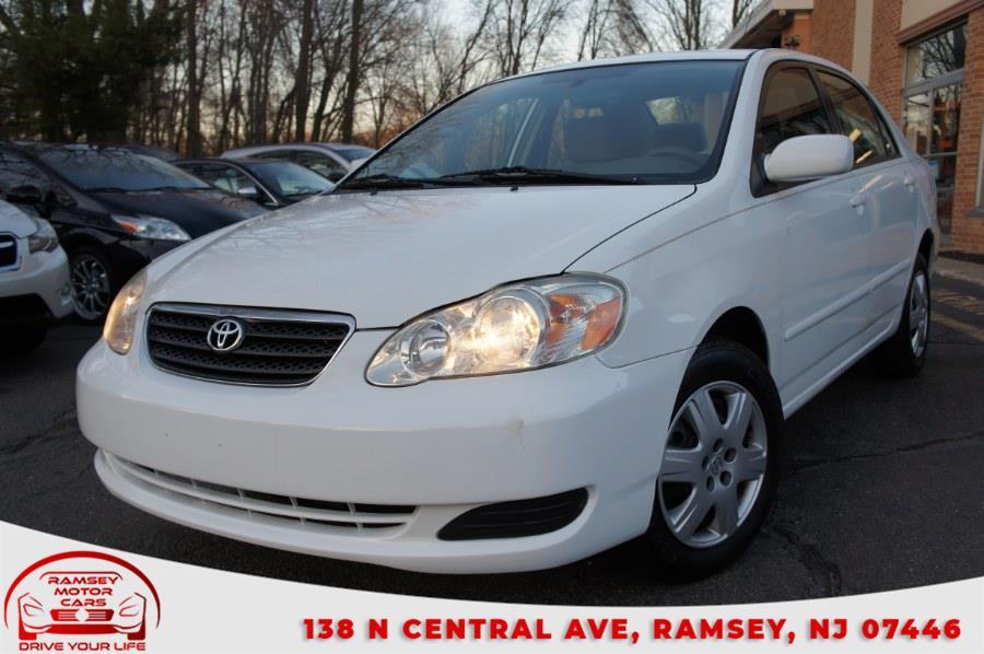 Used 2007 Toyota Corolla in Ramsey, New Jersey | Ramsey Motor Cars Inc. Ramsey, New Jersey