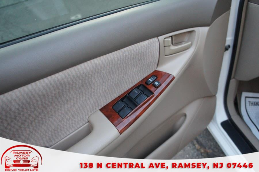 Used Toyota Corolla 4dr Sdn Auto LE 2007 | Ramsey Motor Cars Inc. Ramsey, New Jersey