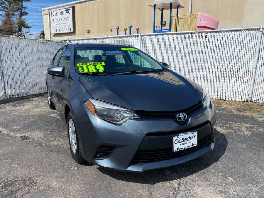 Used Toyota Corolla 4dr Sdn CVT LE Plus (Natl) 2014 | Carmatch NY. Bayshore, New York