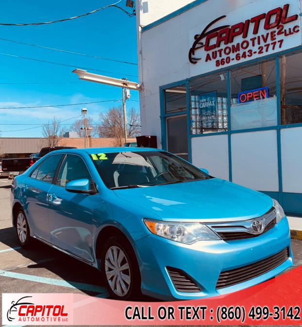 Used 2012 Toyota Camry in Manchester, Connecticut | Capitol Automotive 2 LLC. Manchester, Connecticut