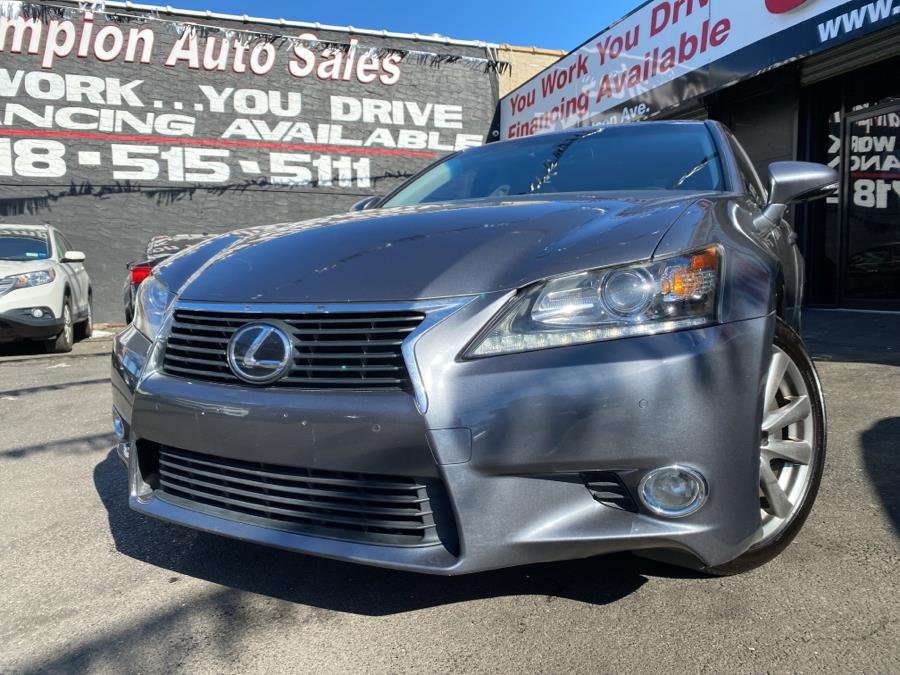 Used 2015 Lexus GS 350 in Bronx, New York | Champion Auto Sales Of The Bronx. Bronx, New York