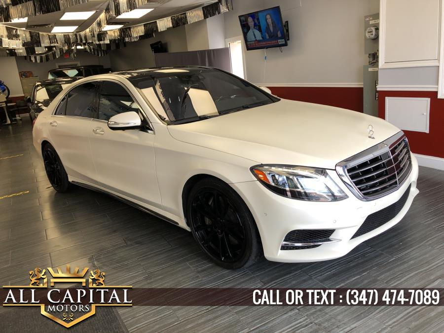 Used Mercedes-Benz S-Class 4dr Sdn S 550 4MATIC 2016 | All Capital Motors. Brooklyn, New York