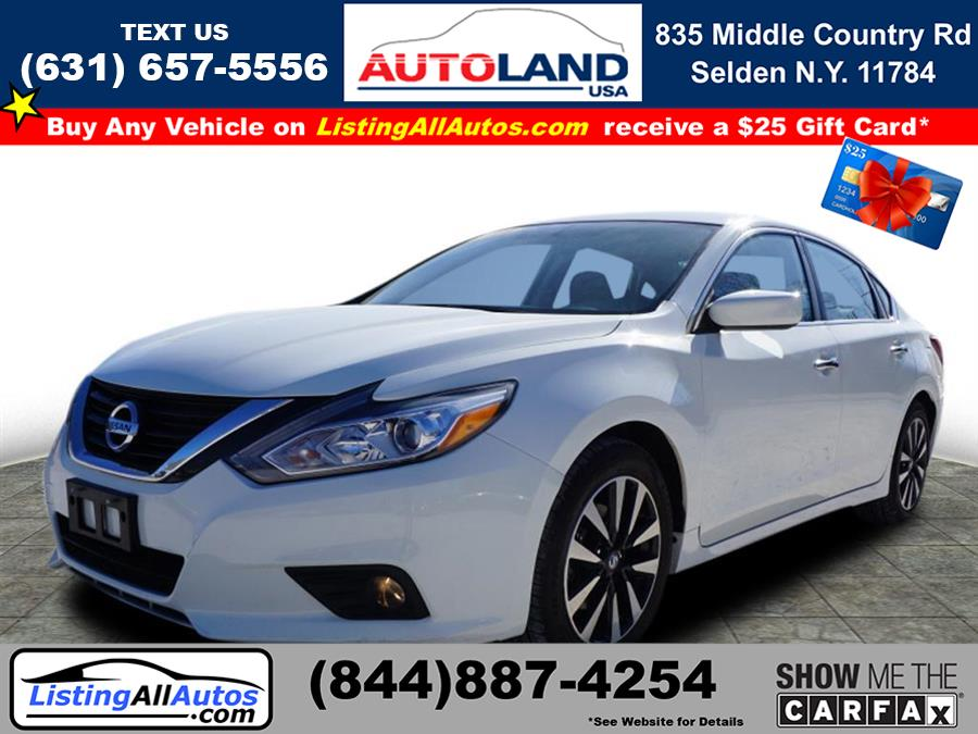 Used 2018 Nissan Altima in Patchogue, New York | www.ListingAllAutos.com. Patchogue, New York