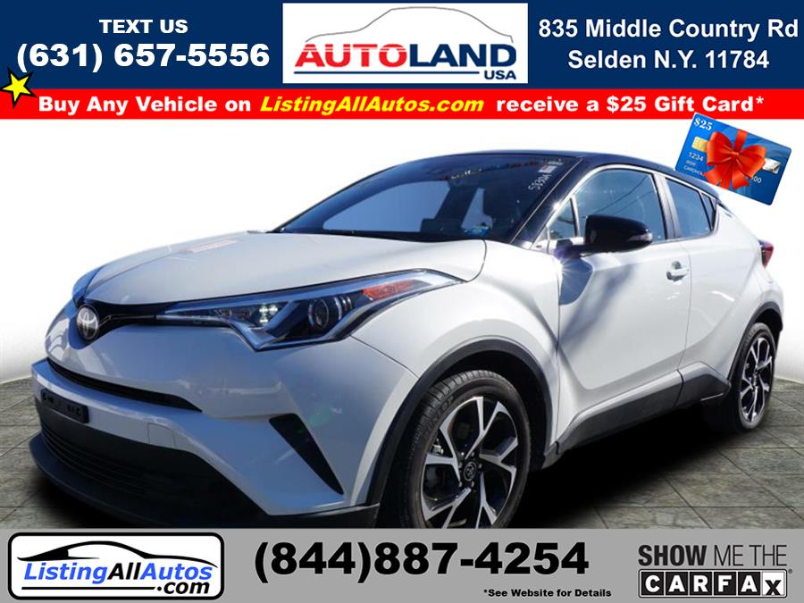 Used 2019 Toyota C-hr in Patchogue, New York   www.ListingAllAutos.com. Patchogue, New York