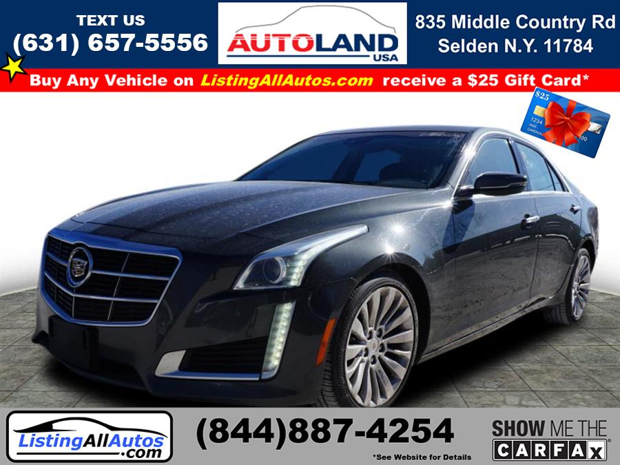 Used 2014 Cadillac Cts in Patchogue, New York | www.ListingAllAutos.com. Patchogue, New York