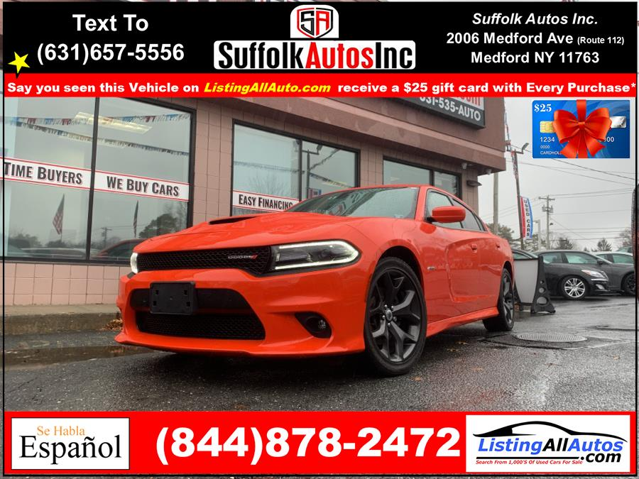 Used 2019 Dodge Charger in Patchogue, New York | www.ListingAllAutos.com. Patchogue, New York