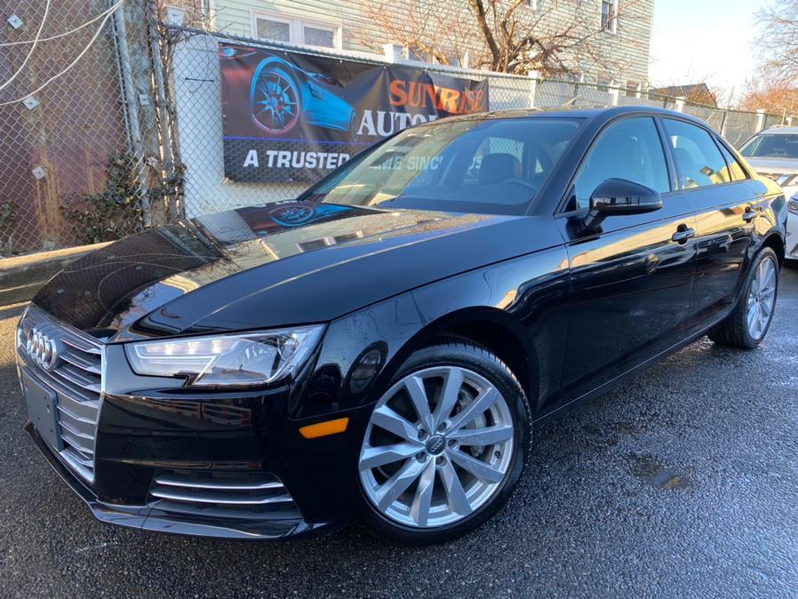 Used 2017 Audi A4 in Jamaica, New York | Sunrise Autoland. Jamaica, New York