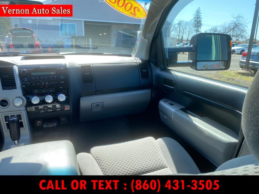 Used Toyota Tundra 4WD Truck CrewMax 5.7L V8 6-Spd AT SR5 2008   Vernon Auto Sale & Service. Manchester, Connecticut