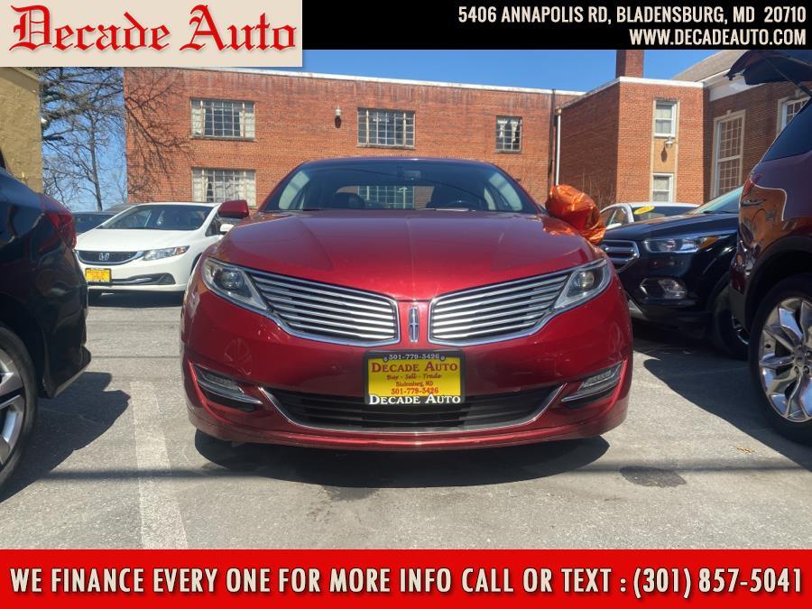 Used 2015 Lincoln MKZ in Bladensburg, Maryland | Decade Auto. Bladensburg, Maryland