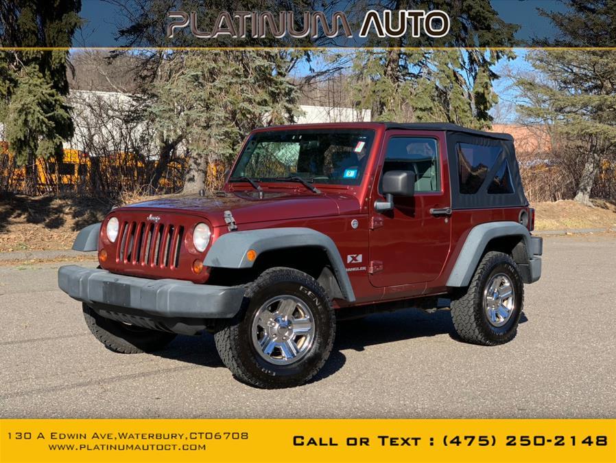 Used Jeep Wrangler 4WD 2dr X 2008 | Platinum Auto Care. Waterbury, Connecticut