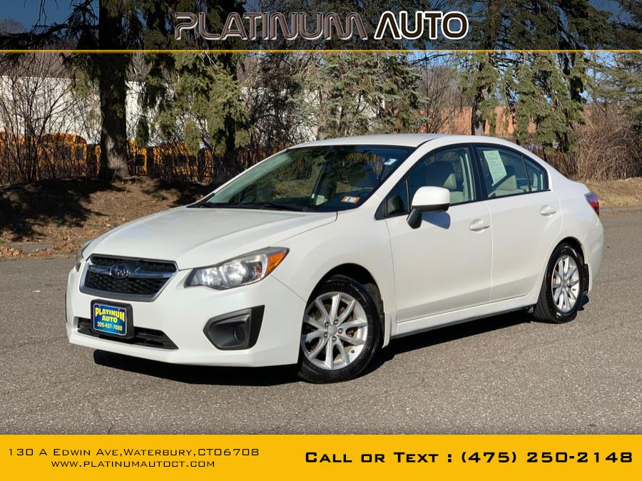 Used 2013 Subaru Impreza Sedan in Waterbury, Connecticut | Platinum Auto Care. Waterbury, Connecticut