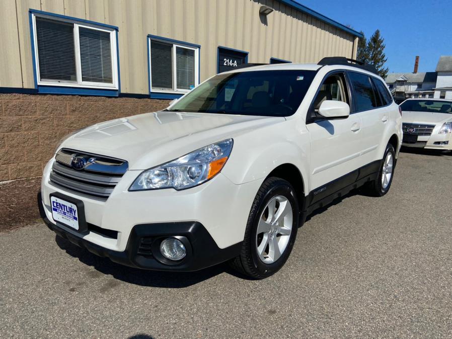 Used Subaru Outback 4dr Wgn H4 Auto 2.5i Premium 2014 | Century Auto And Truck. East Windsor, Connecticut