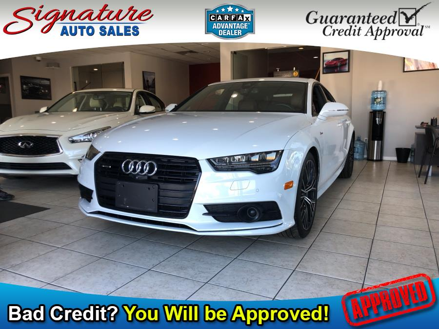 Used 2017 Audi A7 in Franklin Square, New York | Signature Auto Sales. Franklin Square, New York