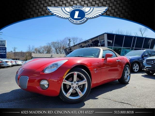 Used 2007 Pontiac Solstice in Cincinnati, Ohio | Luxury Motor Car Company. Cincinnati, Ohio
