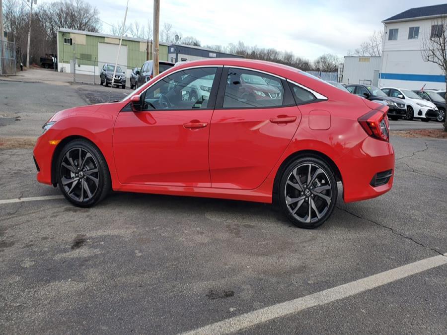 Used Honda Civic Sedan Sport CVT 2020 | Capital Lease and Finance. Brockton, Massachusetts