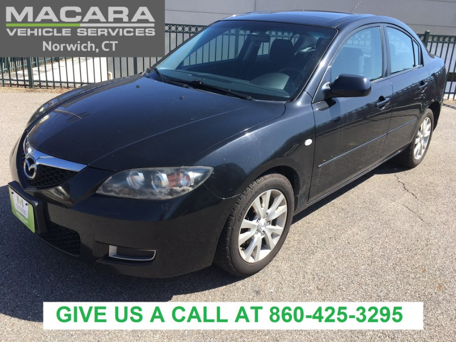 Used Mazda Mazda3 4dr Sdn Auto i Sport 2008 | MACARA Vehicle Services, Inc. Norwich, Connecticut