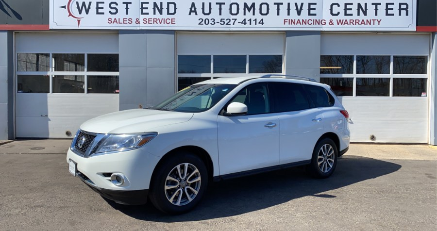 Used 2015 Nissan Pathfinder in Waterbury, Connecticut | West End Automotive Center. Waterbury, Connecticut