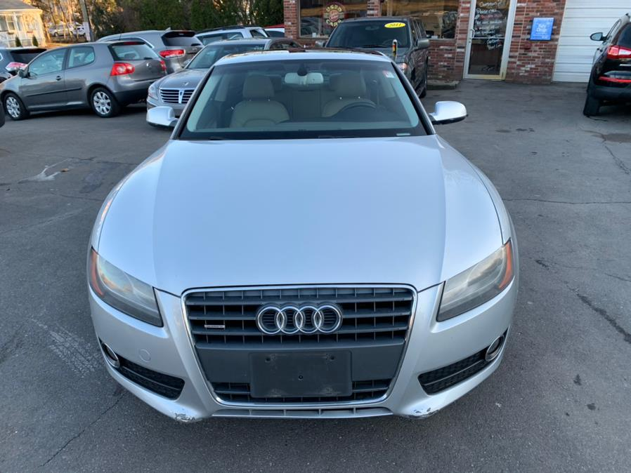 Used Audi A5 2dr Cpe Auto quattro 2.0T Premium Plus 2012 | Central Auto Sales & Service. New Britain, Connecticut