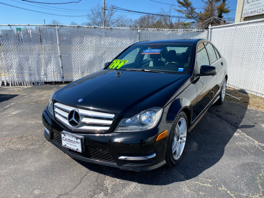 Used Mercedes-Benz C-Class 4dr Sdn C300 Sport 4MATIC 2013 | Carmatch NY. Bayshore, New York