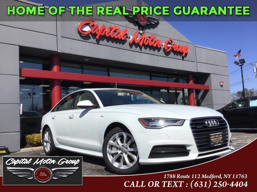 Used 2018 Audi A6 in Medford, New York | Capital Motor Group Inc. Medford, New York