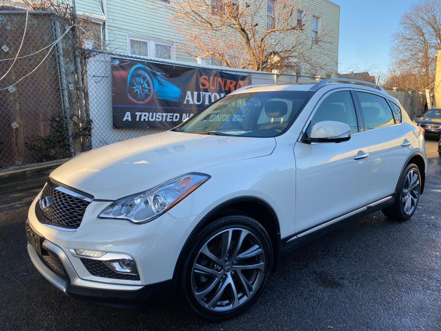 Used 2017 INFINITI QX50 in Jamaica, New York | Sunrise Autoland. Jamaica, New York