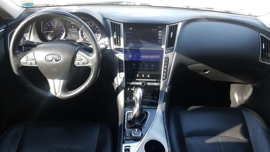 Used INFINITI Q50 4dr Sdn Sport AWD 2015 | New York Motors Group Solutions LLC. Bronx, New York