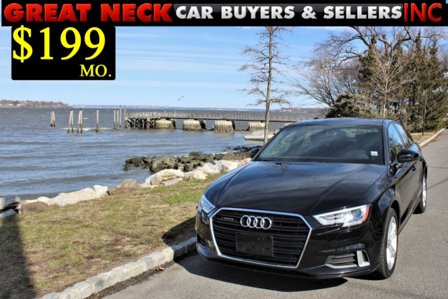 2017 Audi A3 Sedan 2.0 TFSI Premium quattro AWD, available for sale in Great Neck, NY