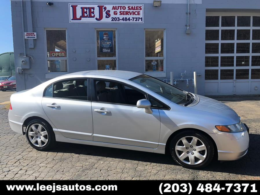 Used 2008 Honda Civic Sdn in North Branford, Connecticut | LeeJ's Auto Sales & Service. North Branford, Connecticut