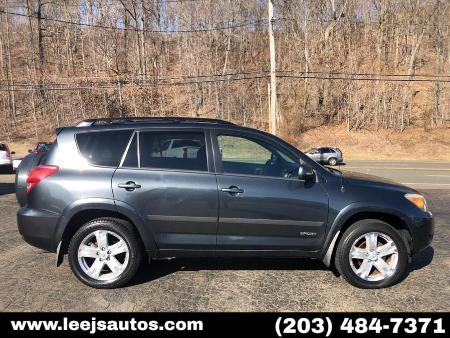 Used Toyota RAV4 4WD 4dr 4-cyl 4-Spd AT Sport (Natl) 2008 | LeeJ's Auto Sales & Service. North Branford, Connecticut