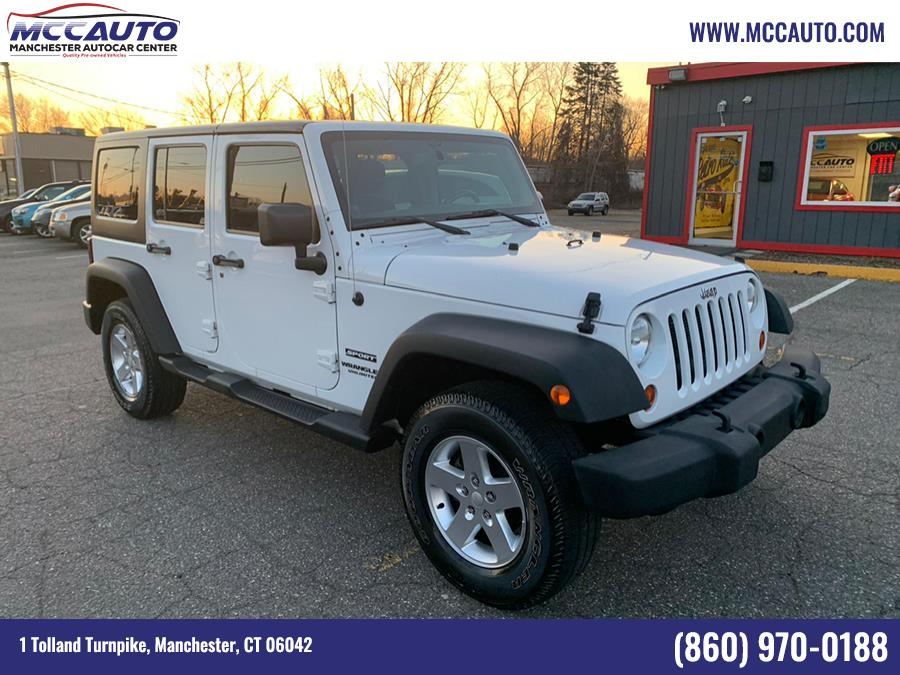Used Jeep Wrangler Unlimited 4WD 4dr Sport 2013 | Manchester Autocar Center. Manchester, Connecticut