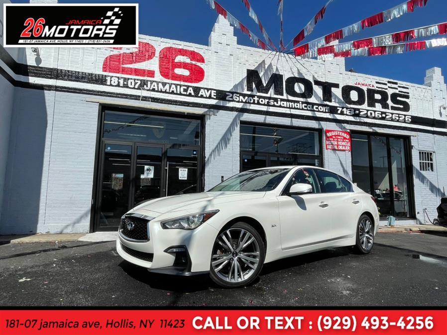 Used 2018 INFINITI Q50 Silver Sport in Hollis, New York | Jamaica 26 Motors. Hollis, New York
