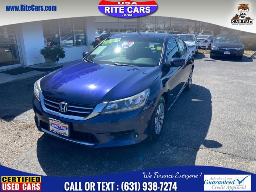 Used 2013 Honda Accord Sdn in Lindenhurst, New York   Rite Cars, Inc. Lindenhurst, New York