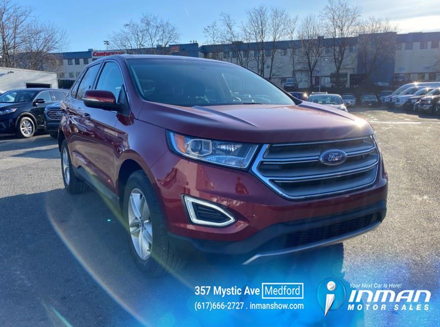 Used Ford Edge SEL AWD 2017 | Inman Motors Sales. Medford, Massachusetts