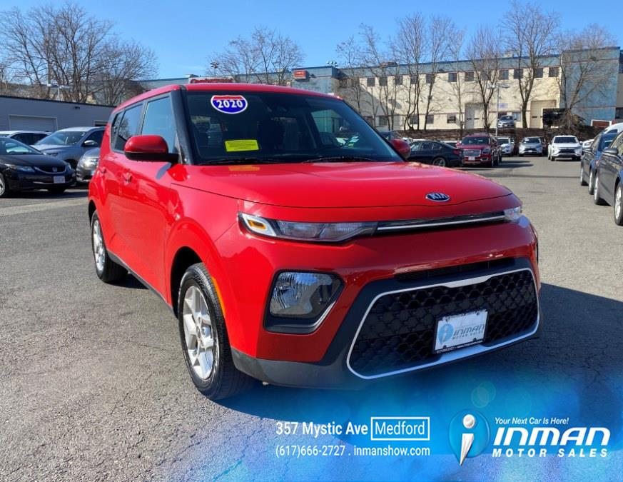 2020 Kia Soul S IVT, available for sale in Medford, MA