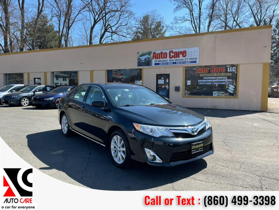 Used 2012 Toyota Camry Hybrid in Vernon , Connecticut | Auto Care Motors. Vernon , Connecticut