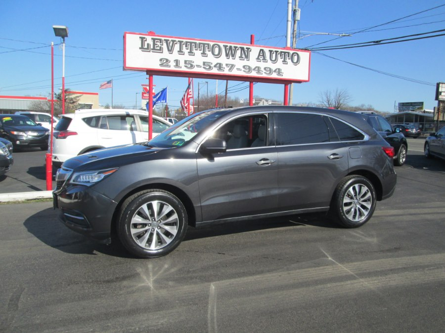 Used 2016 Acura MDX in Levittown, Pennsylvania | Levittown Auto. Levittown, Pennsylvania