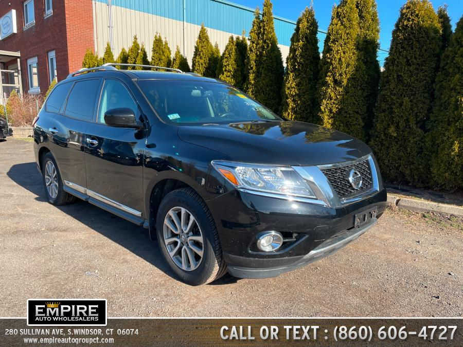 Used 2013 Nissan Pathfinder in S.Windsor, Connecticut | Empire Auto Wholesalers. S.Windsor, Connecticut
