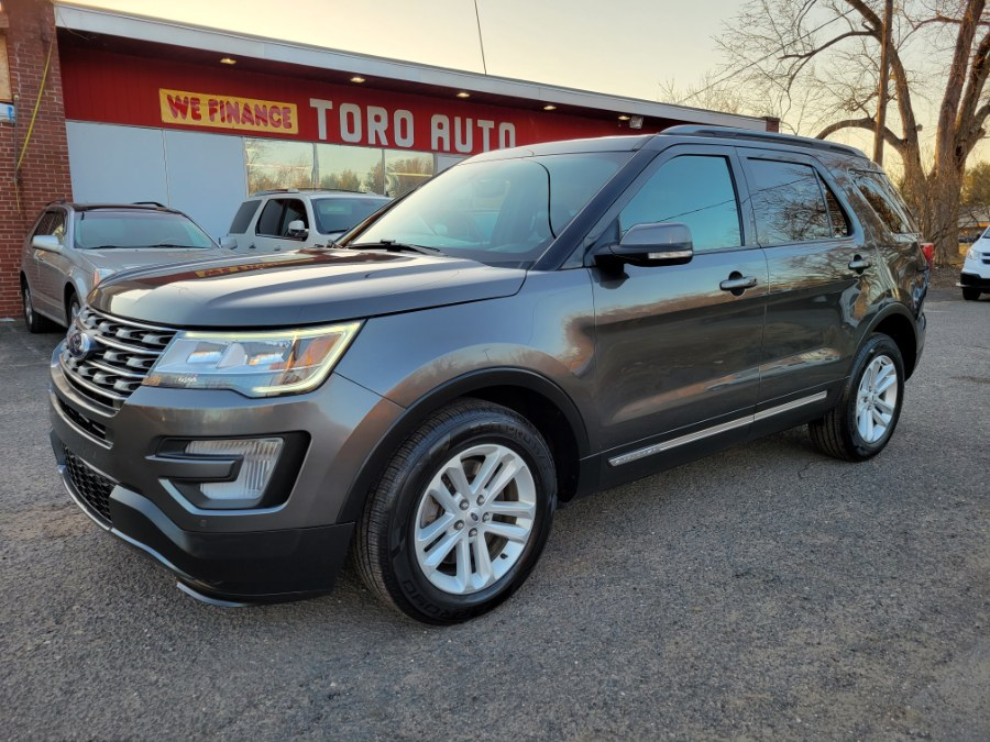 Used Ford Explorer XLT Leather 3rd Raw 2017 | Toro Auto. East Windsor, Connecticut