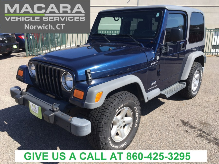 Used 2005 Jeep Wrangler in Norwich, Connecticut | MACARA Vehicle Services, Inc. Norwich, Connecticut
