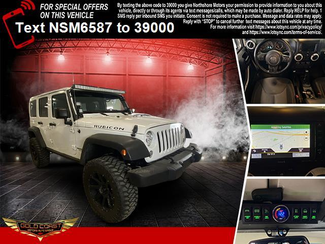 Used Jeep Wrangler Unlimited Rubicon 4x4 2017   Sunrise Auto Outlet. Amityville, New York