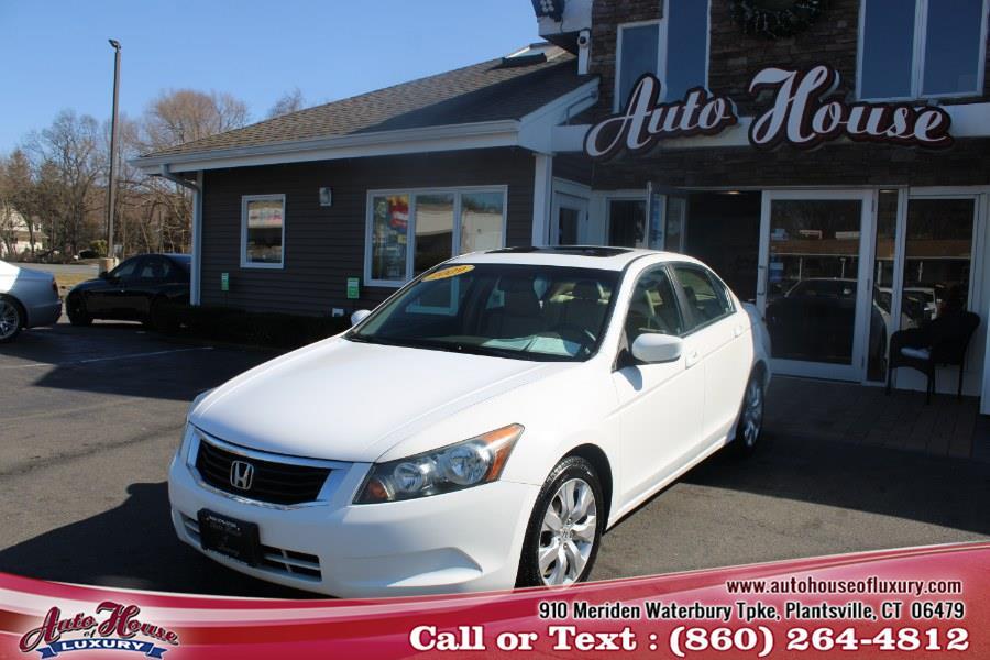 Used Honda Accord Sdn 4dr I4 Auto EX-L 2009 | Auto House of Luxury. Plantsville, Connecticut