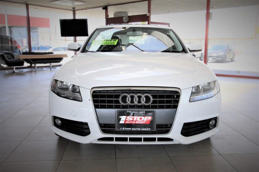 Used Audi A4 4dr Sdn CVT FrontTrak 2.0T Premium 2012 | 1 Stop Auto Mart Inc.. Garden Grove, California