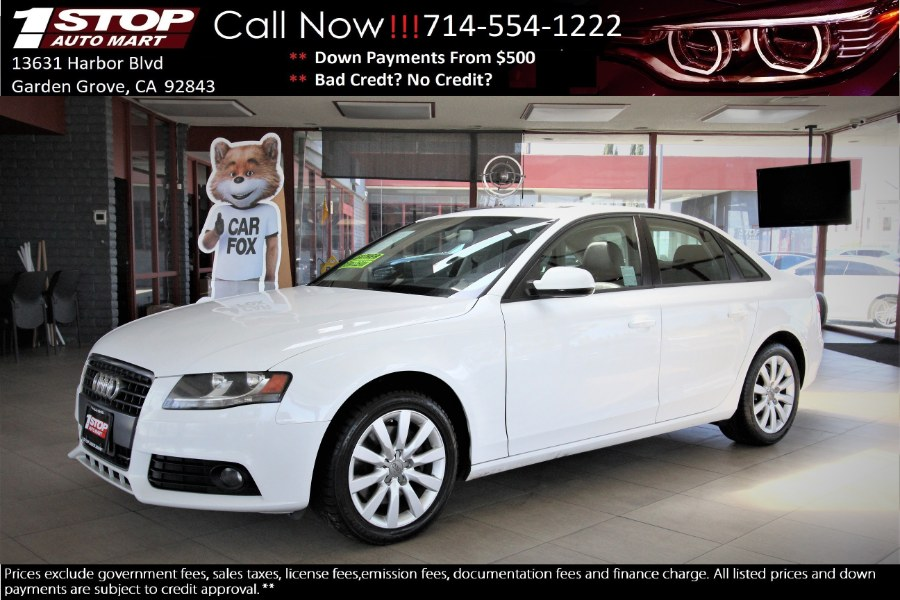 Used 2012 Audi A4 in Garden Grove, California | 1 Stop Auto Mart Inc.. Garden Grove, California