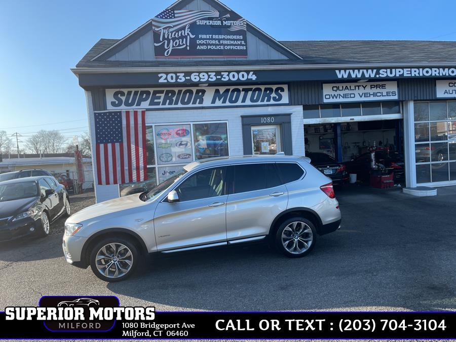 Used 2015 BMW X3 SPORT X3 SPORT AWD in Milford, Connecticut | Superior Motors LLC. Milford, Connecticut