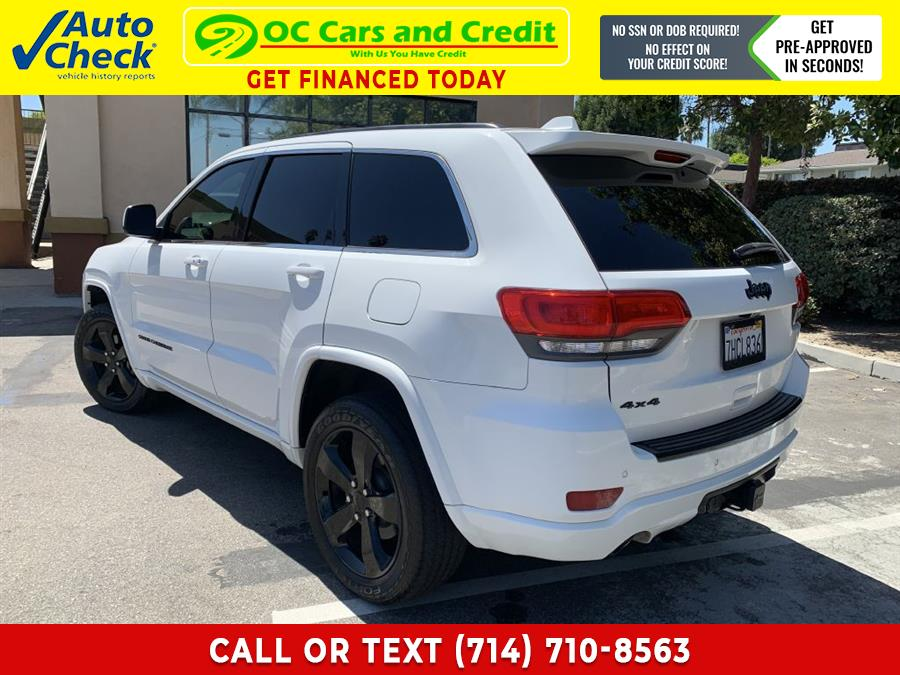 Used Jeep Grand Cherokee ALTITUDE 2015 | OC Cars and Credit. Garden Grove, California