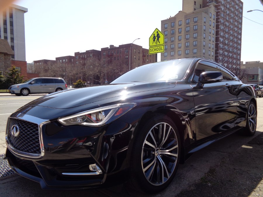 Used INFINITI Q60 3.0t LUXE AWD 2018 | Top Speed Motors LLC. Jamaica, New York