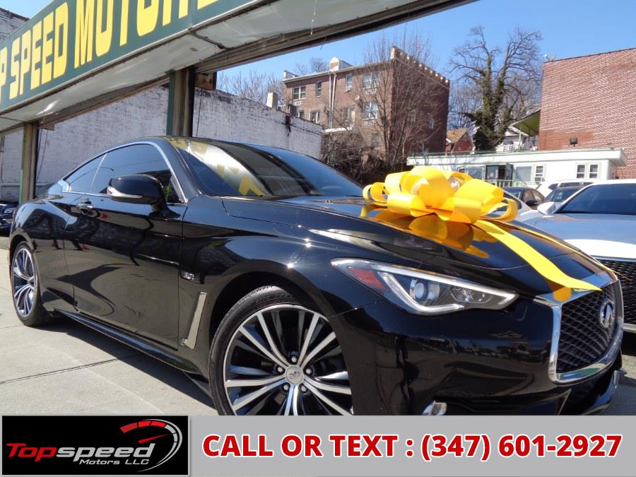 Used 2018 INFINITI Q60 in Jamaica, New York | Top Speed Motors LLC. Jamaica, New York