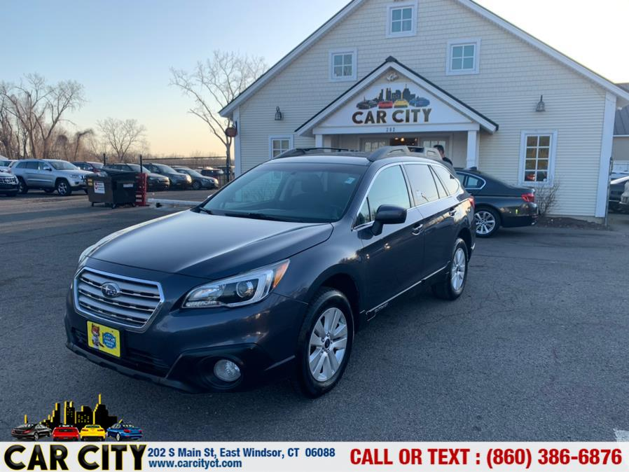 Used Subaru Outback 4dr Wgn 2.5i Premium PZEV 2015 | Car City LLC. East Windsor, Connecticut