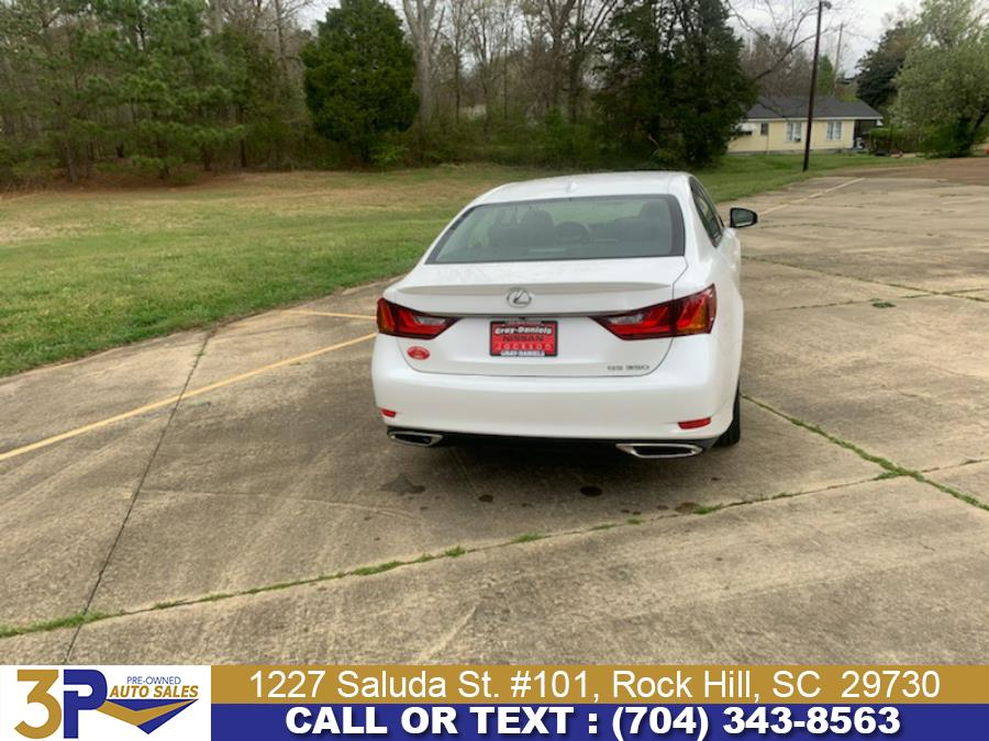 Used Lexus GS 350 4dr Sdn Crafted Line RWD 2015 | 3 Points Auto Sales. Rock Hill, South Carolina
