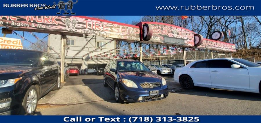 Used 2004 Toyota Matrix in Brooklyn, New York | Rubber Bros Auto World. Brooklyn, New York